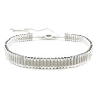 White Metal Choker