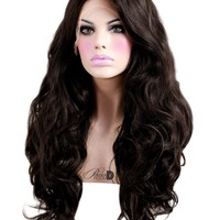 Milk Chocolate Lace Front Wig - Powder Room D