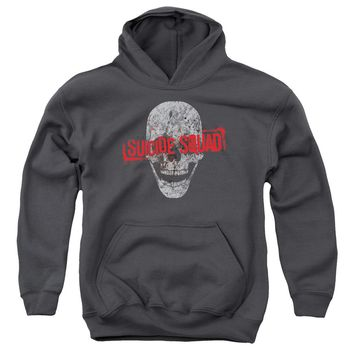 Suicide Squad - Skull Youth Pull Over Hoodie