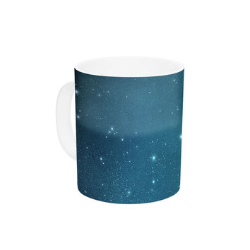 "Robin Dickinson ""Star Light"" Celestial Forest Ceramic Coffee Mug"