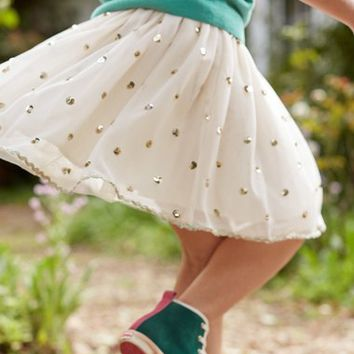 Mini Boden Rickrack Tulle Skirt (Little Girls & Big Girls) | Nordstrom