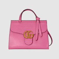 Gucci GG Marmont leather top handle