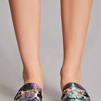 Wanted Floral Slip-On Loafers