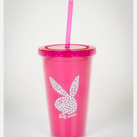 Playboy Carnival Cup with Straw