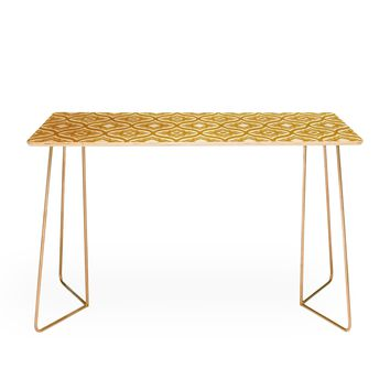 Heather Dutton Trevino Yellow Desk