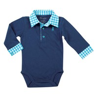 Wrangler All Around Baby Long Sleeve Bodysuit - PQK567V