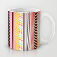 Washi Tape Mug by Louise Machado