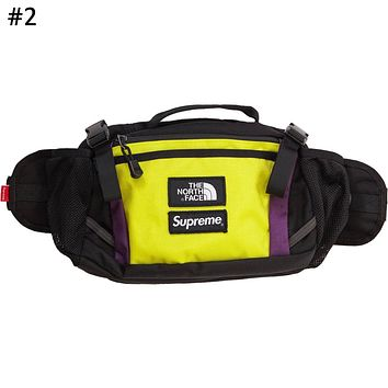 Supreme x The North Face co-branded men's and women's casual outdoor shoulder bag Messenger bag #2