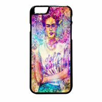 Frida Kahlo Flower Paintings On Galaxy Nebula iPhone 6 Plus Case