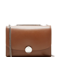 Trouble Leather Shoulder Bag in Brown