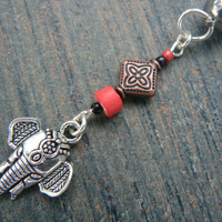 Moroccan elephant belly ring red in zen yoga Indie Moroccan boho hipster new age gypsy hippie belly dancer beach and hipster style