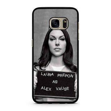 Orange Is The New Black Alex Vause 1 Samsung Galaxy S7 Case