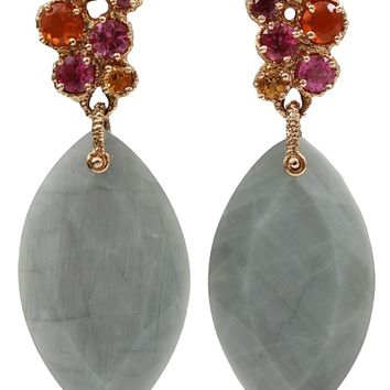 Federica Rettore Moon Quartz Drop Earrings
