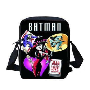 "Batman: Harley Quinn ""Mad Love"" Crossbody Purse Bag"