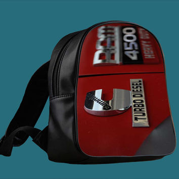 dodge cummin turbo diesel for Backpack / Custom Bag / School Bag / Children Bag / Custom School Bag *
