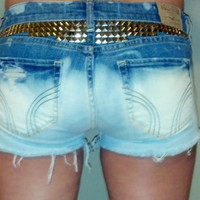 Studded Jean Shorts (HIGH or LOW waisted)