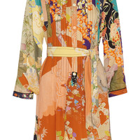Gucci - Printed silk crepe de chine dress