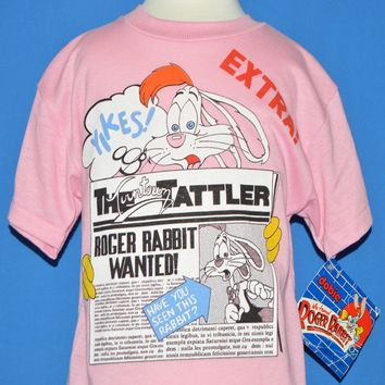 80s Who Framed Roger Rabbit t-shirt Youth Small