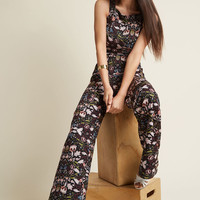 Horticulture Chic Sleeveless Jumpsuit