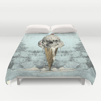 Eternally Sweet, Cremated Duvet Cover by Kristy Patterson Design