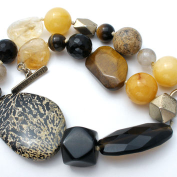 Massive Gemstone Bead Necklace Sigrid Olsen
