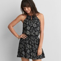 AEO WOVEN STRAPPY DRESS