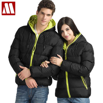 Winter new men's cotton-padded jackets wadded fashion Overcoat, Male Outwear Warm Coats Parka thick