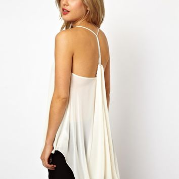 ASOS | ASOS Cami with Drape Back at ASOS
