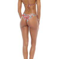 Brazilian Tie Side Ruched Bottom