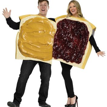 Peanut Butter-jelly Couple Costume Halloween