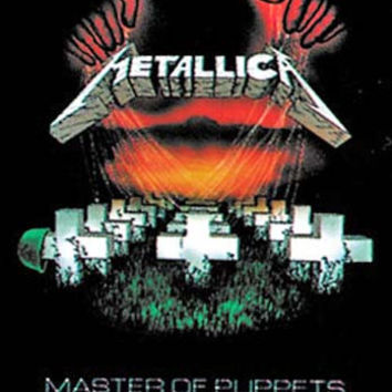 Fabric Poster - Metallica Master Puppets