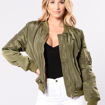 Notorious Jacket - Olive