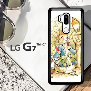 Beatrix Potter Peter Rabbit V1584 LG G7 ThinQ Case