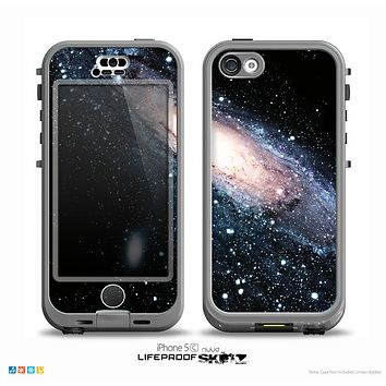 The Swirling Glowing Starry Galaxy Skin for the iPhone 5c nüüd LifeProof Case