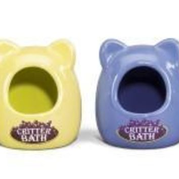 Ceramic Critter Bath for Small Animals