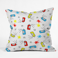 Amy Smith PSST Outdoor Throw Pillow