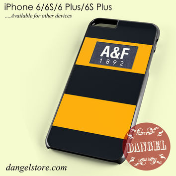 yellow abercrombie and fitch Phone case for iPhone 6/6s/6 Plus/6S plus