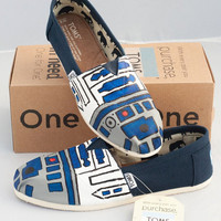 R2D2 TOMS Shoes Star Wars