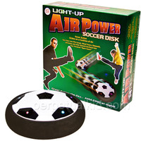 LIGHT-UP AIR POWERED SOCCER DISK