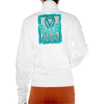 Ovarian Cancer Hope Butterfly Portrait