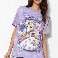 The Mountain Unicorn Backpack Tee - Urban Outfitters