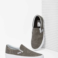 Vans Classic Slip-On Sneaker - Washed Pewter