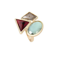 Triple Stones Summer Ring