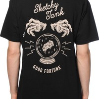 Sketchy Tank Fortune T-Shirt