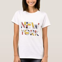 New York artistic, neoplasticism style T-Shirt