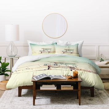 Bree Madden Retro Summer Duvet Cover