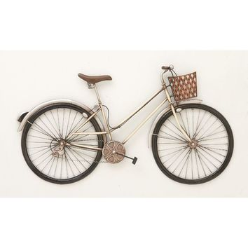 Exclusive Metal Bike Wall Decor | Overstock.com Shopping - The Best Deals on Accent Pieces