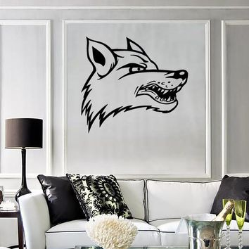 Wall Stickers Vinyl Decal Wolf Animal Nature Tribal Art Decor Unique Gift (ig122)