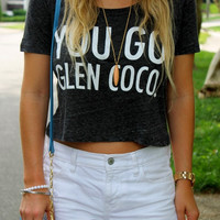 You Go Glen Coco Mean Girls Crop! Cute hipster tumblr clothing teen
