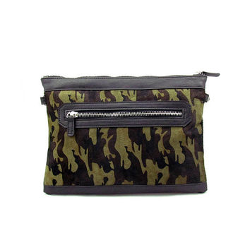 Camo purses, leather clutch, women wallet clutch